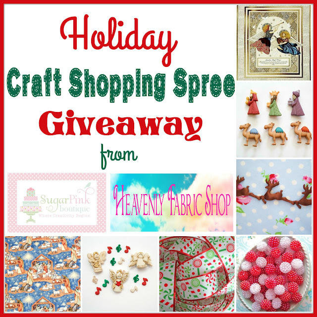 Craft Supply Shopping Spree Giveaway!