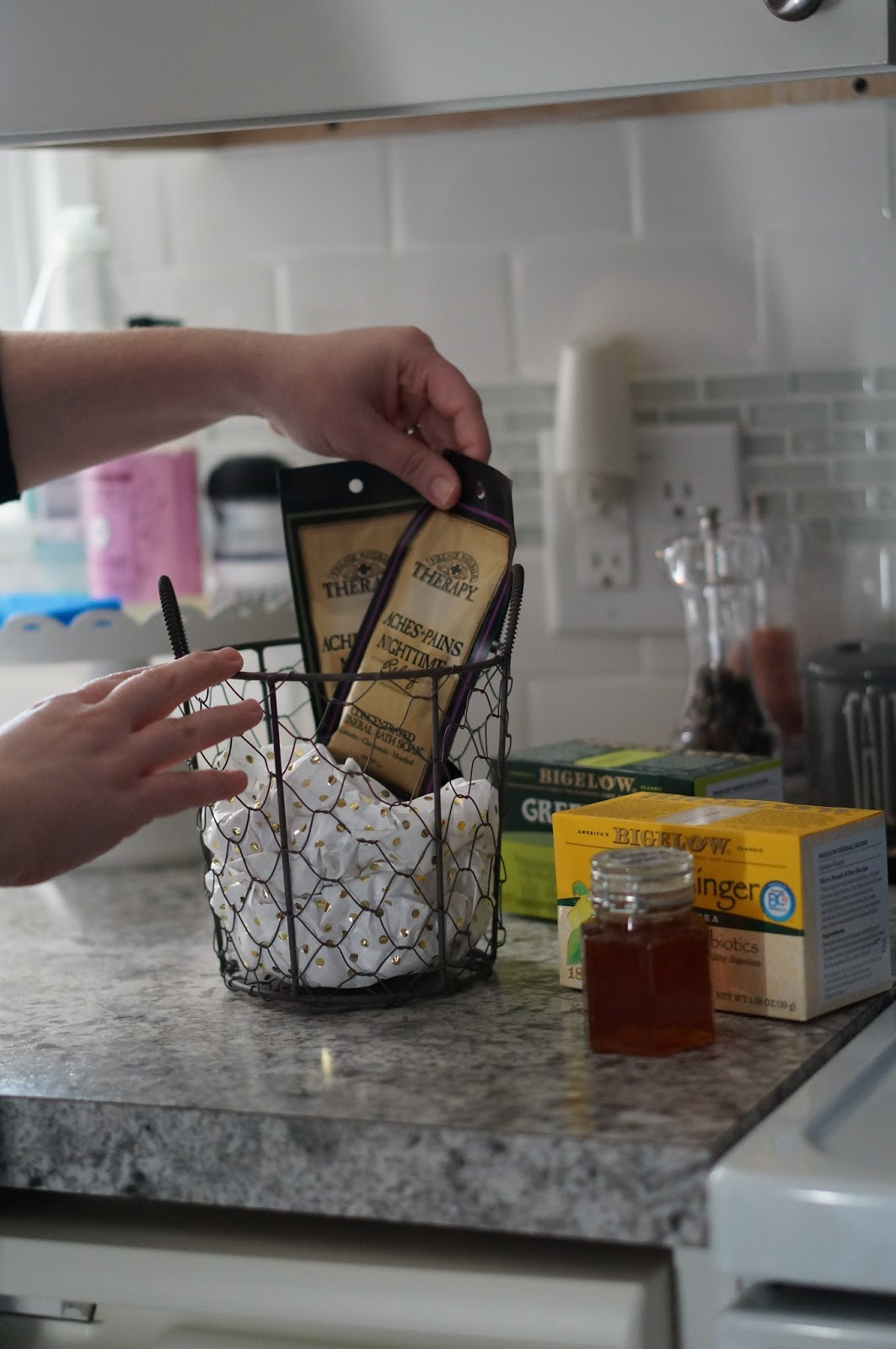 Rebecca Lately Preparing for Sick Season with Bigelow Teas and Lemon Infused Honey