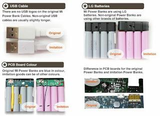 kelebihan Power bank xiaomi original