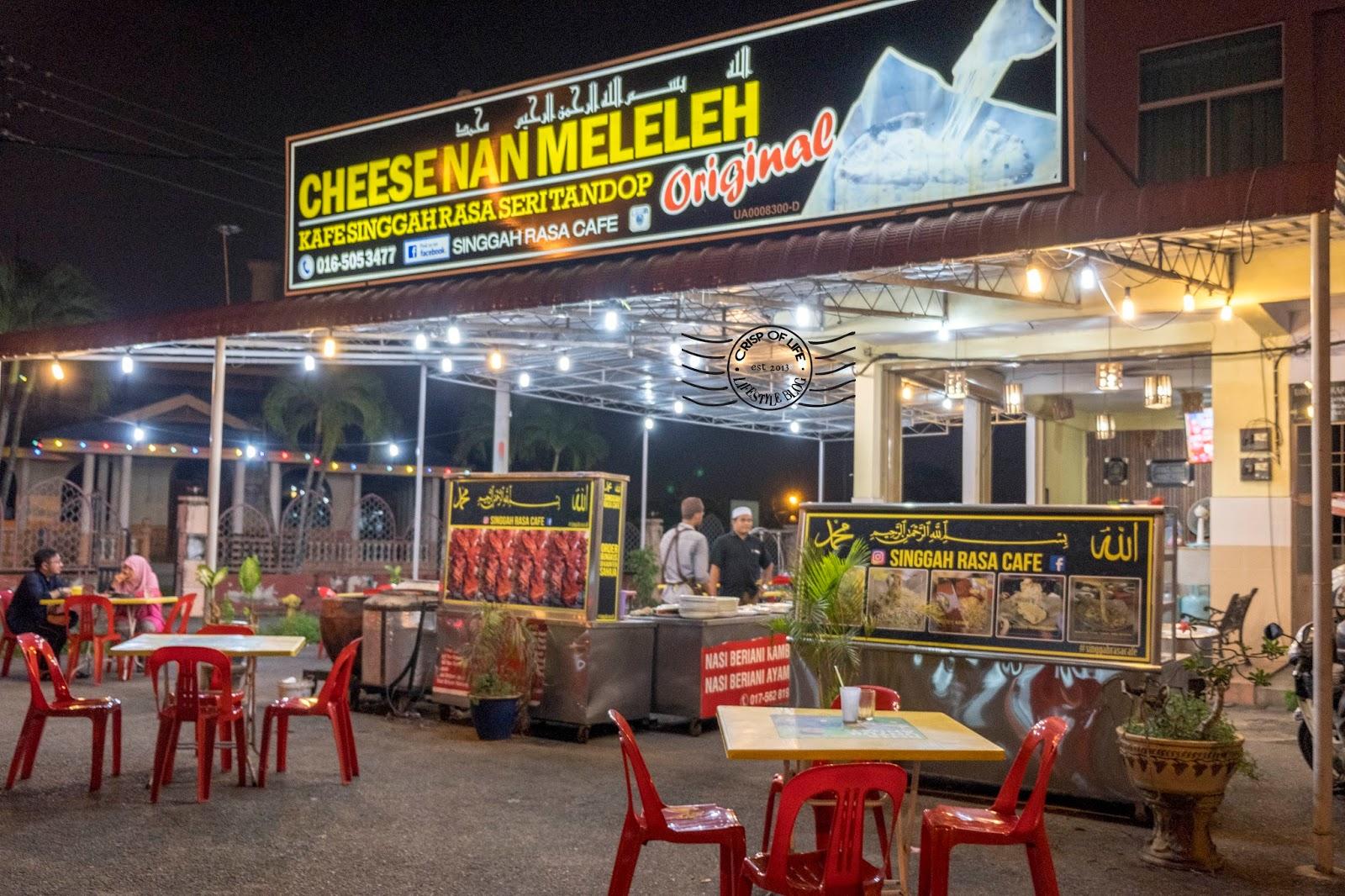 Cheesenan Meleleh @ Kafe Singgah Rasa Seri Tandop, Alor Setar, Kedah