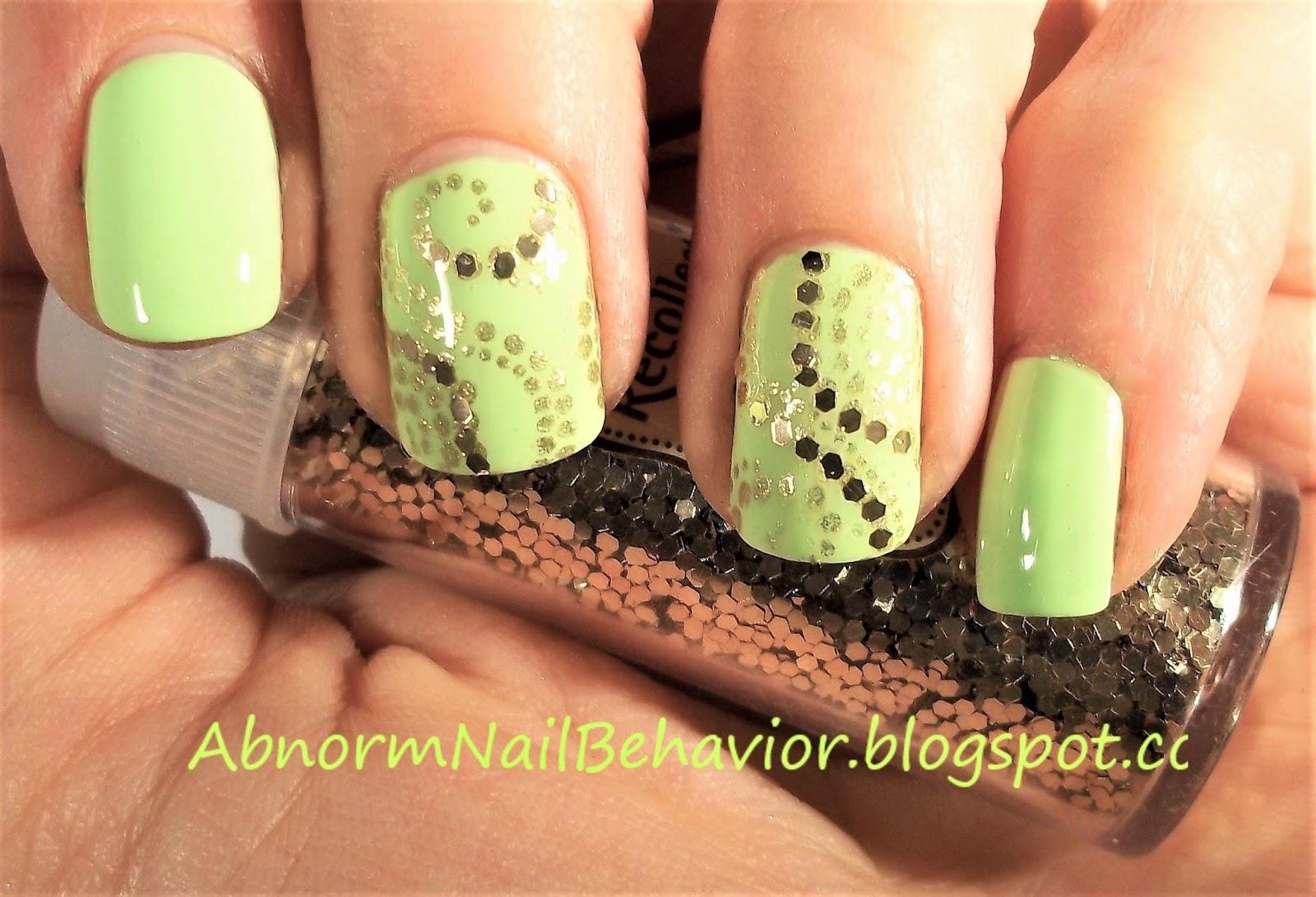 Abnorm Nail Behavior | Nail Art : Simple St Patrick\'s Day Nails