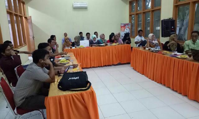 Ketua KPU Sinjai Pimpin Rapat Kerja Penataan Dapil Anggota DPRD