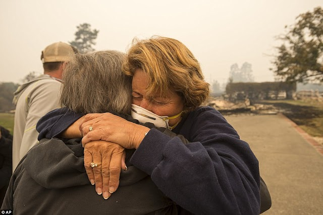 #LatestUpdate for California disaster : At least 17 dead and 183 missing