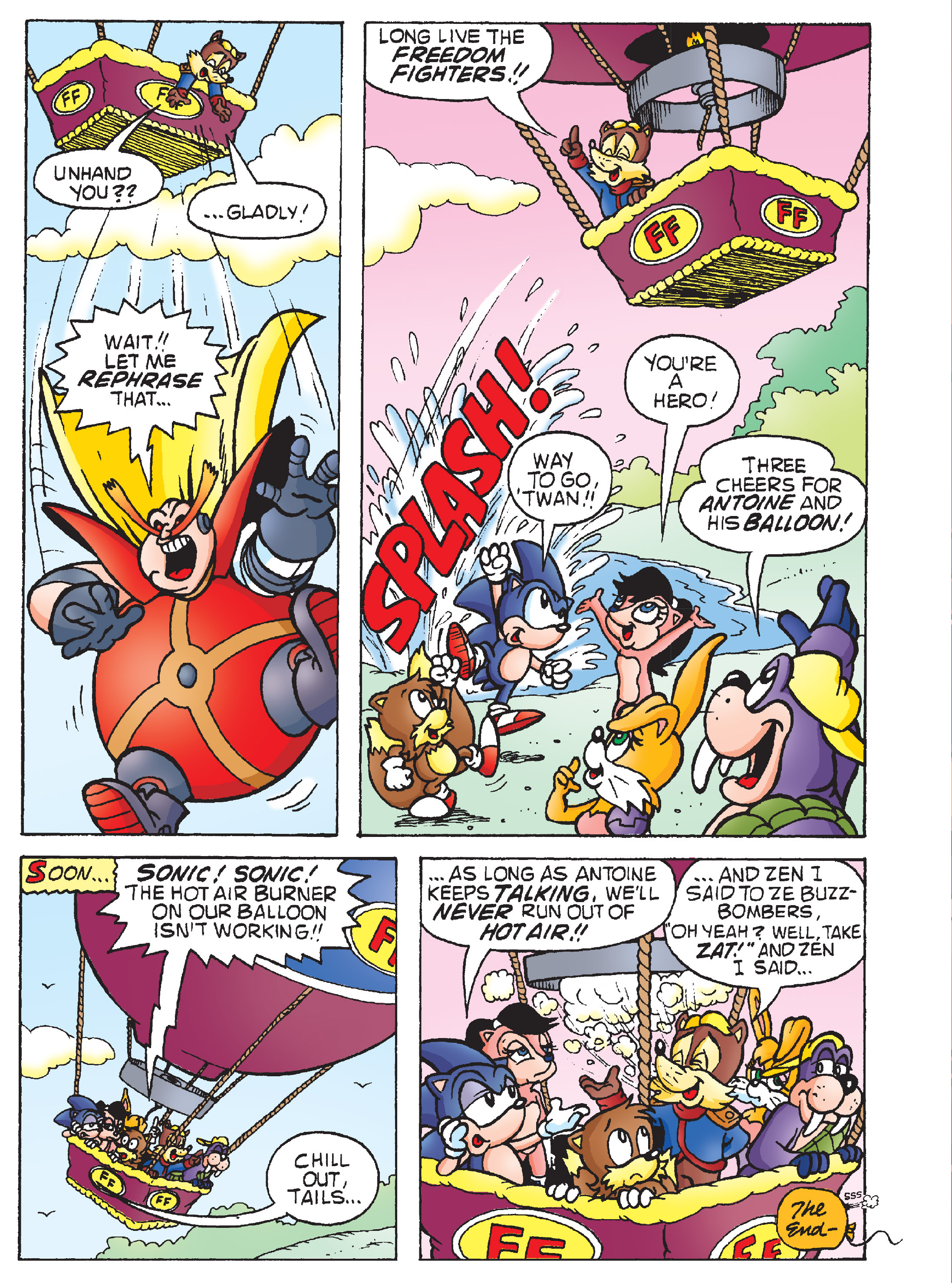 Read online Sonic Super Digest comic -  Issue #8 - 15