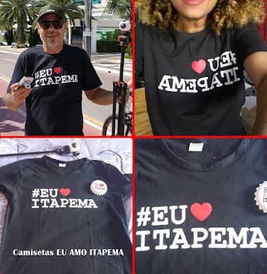Camisetas EU AMO ITAPEMA Ganhe dinheiro com franquia online