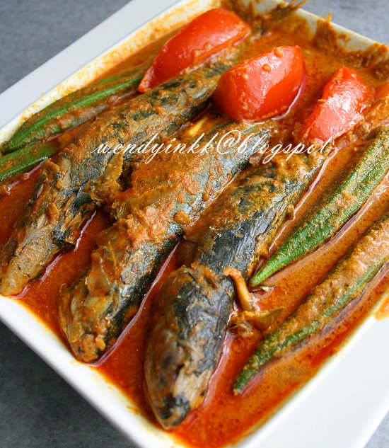 Table For 2 Or More Indian Mackerel Curry Gulai