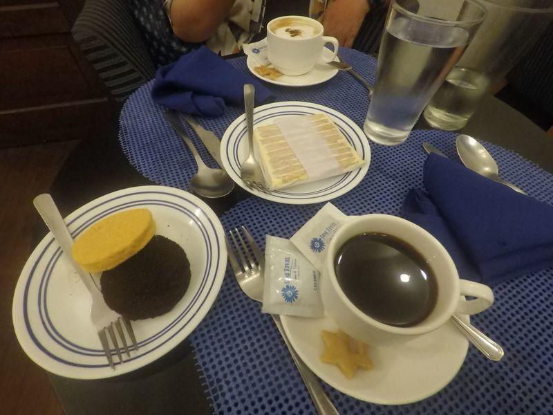 Dessert at Sans Rival Cafe & Restaurant in Dumaguete City