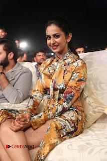Actress Rakul Preet Singh Stills in Short Dress at Dhruva Pre Release Function  0106.JPG