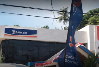 Lokasi ATM Bank BRI Setor Tunai kota PAPUA