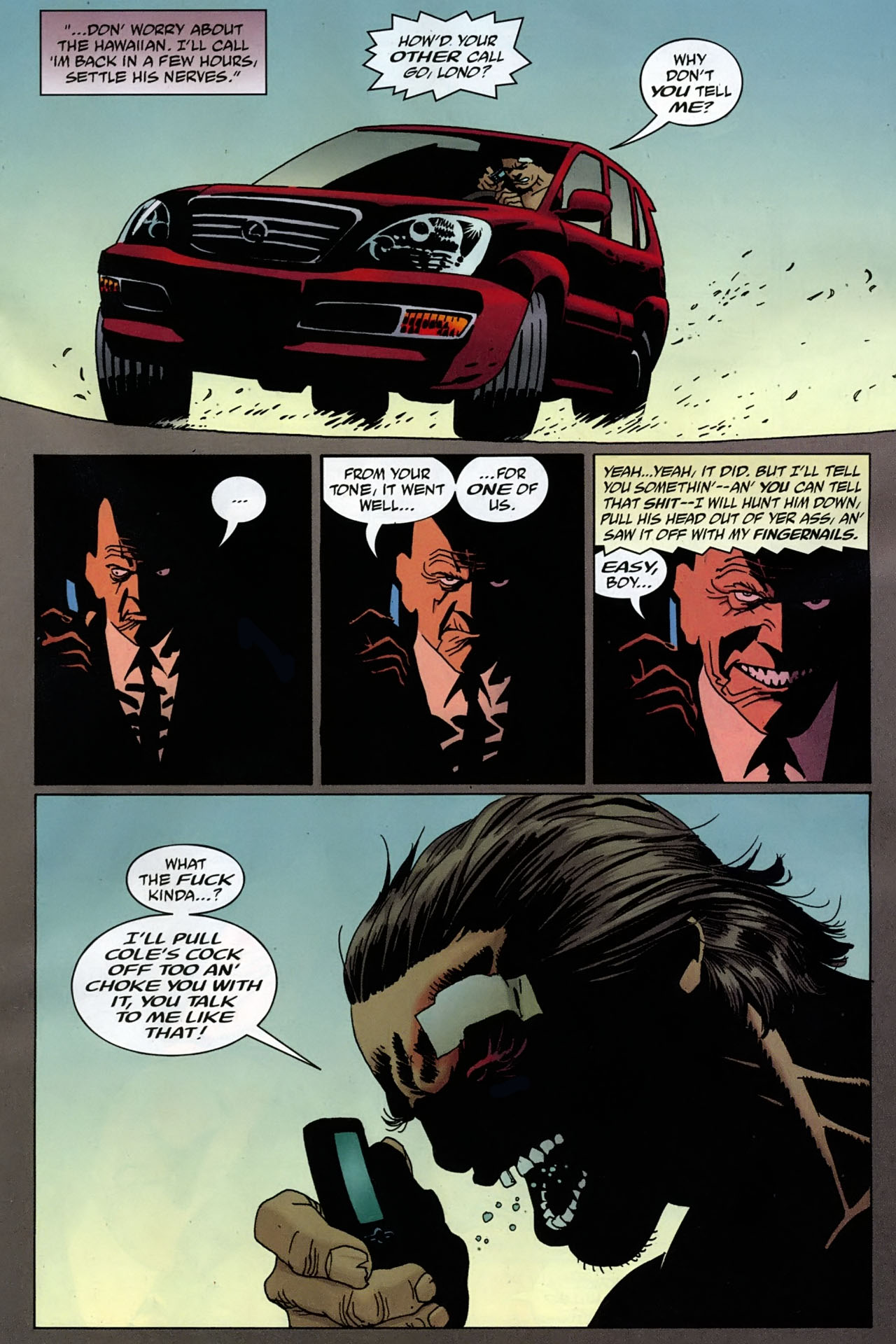 Read online 100 Bullets comic -  Issue #96 - 12