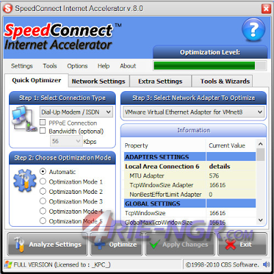 SpeedConnect Internet Accelerator 8.0 Full Terbaru
