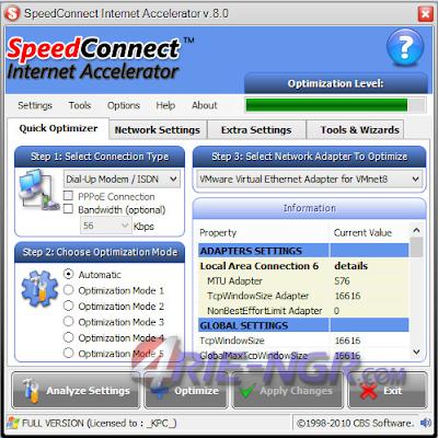 SpeedConnect Internet Accelerator 8.0 Full Terbaru
