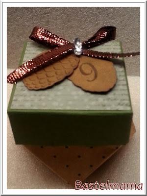 der Scrapbook Laden, Advent, Glücksteelicht, Diamantbox