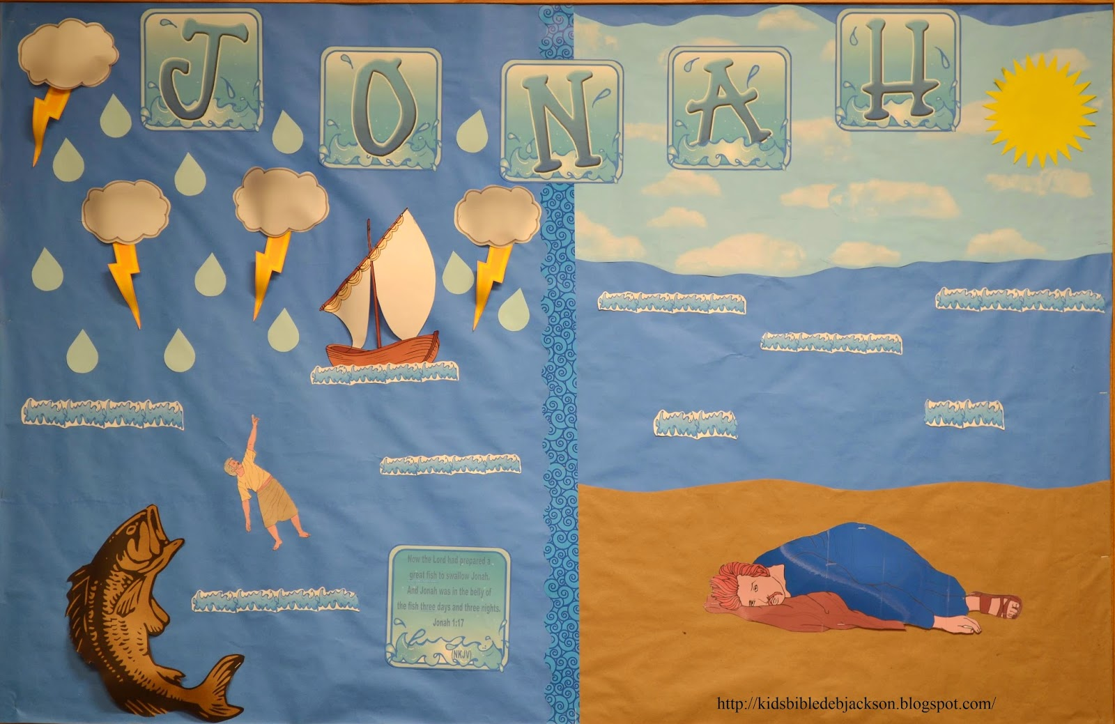 http://kidsbibledebjackson.blogspot.com/2014/02/old-testament-bulletin-boards-part-2.html