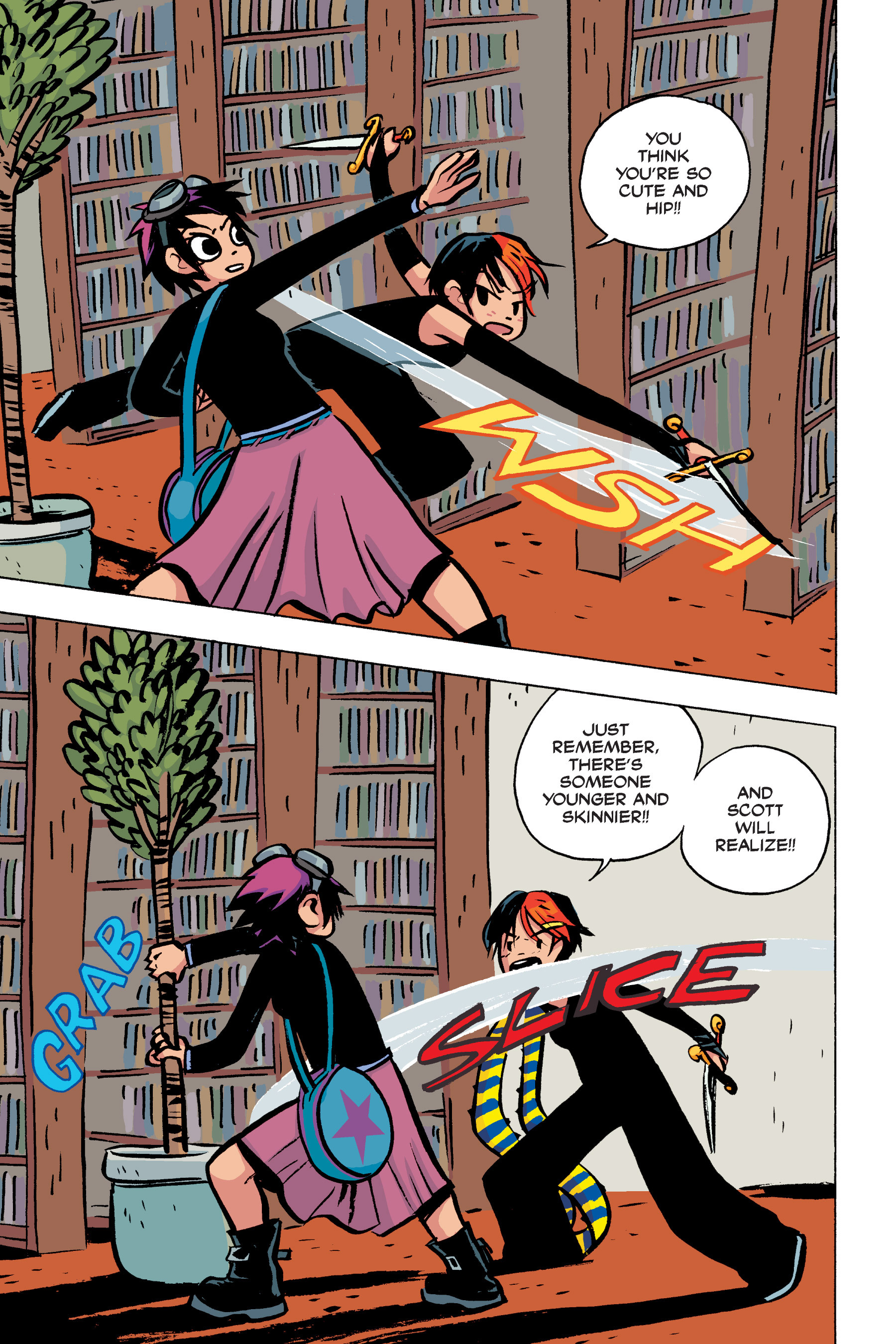 Read online Scott Pilgrim comic -  Issue #2 - 144