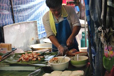 Restaurants in Bangkok Chatuchak Markt