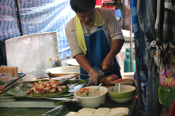 Restaurantes de Bangkok en el Mercado de Chatuchak