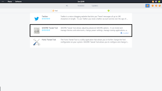 Gnome tweak tool - xface2
