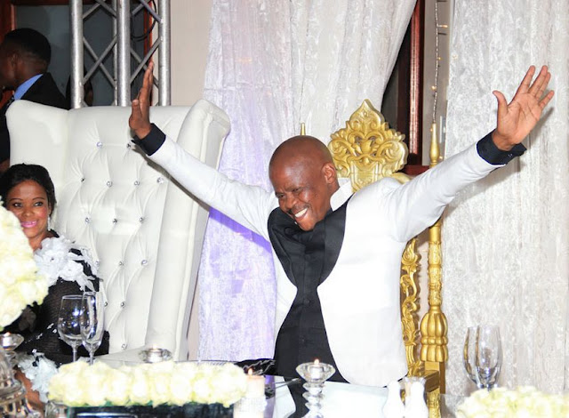Wealthy taxi owner Joe Ferrari celebrates his 50th with a lavish bash in Pretoria,