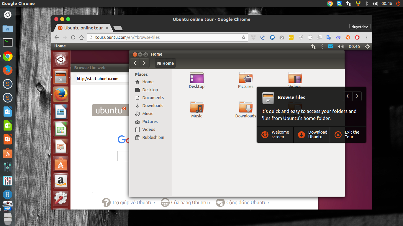 Try Ubuntu on Web
