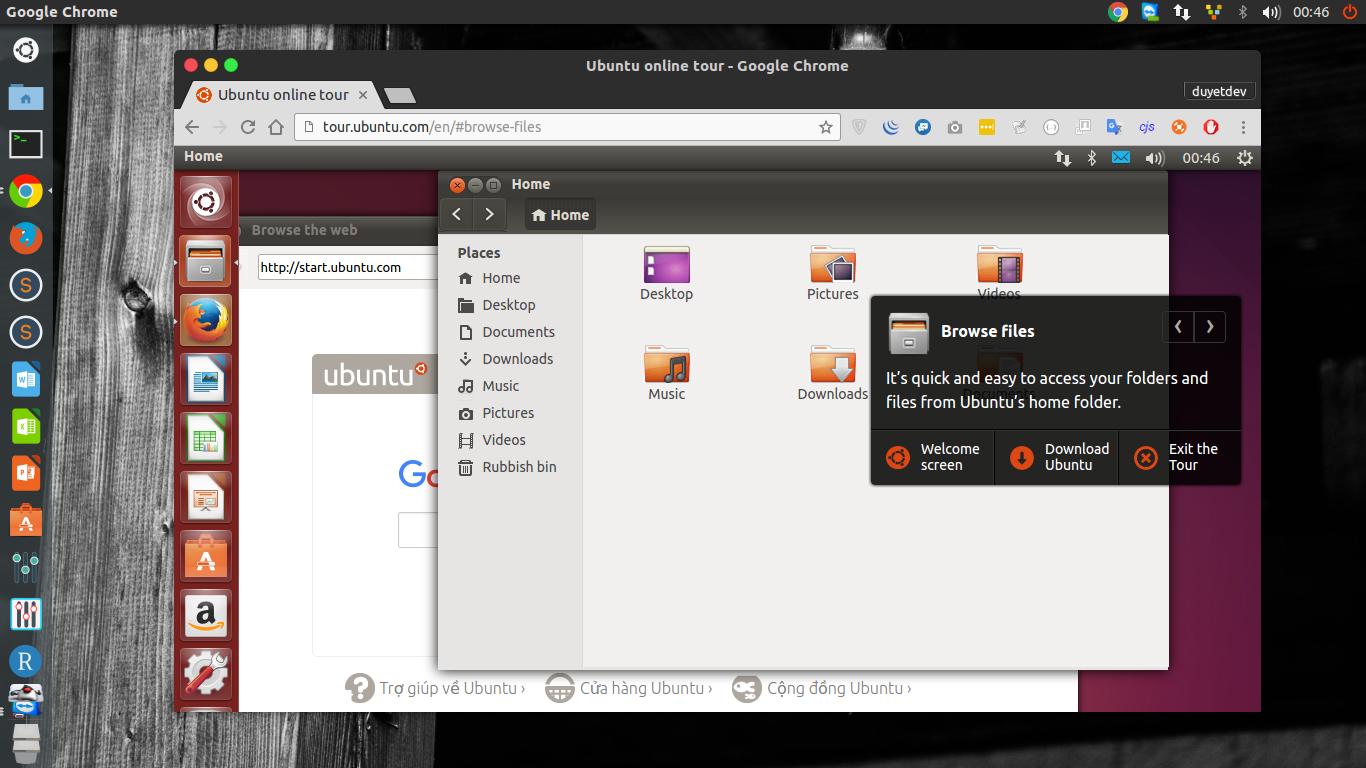Try Ubuntu on Web