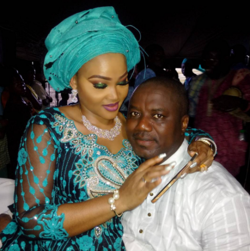 mercy Aigbe Gentry and hubby adored up in new photograph