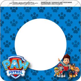 Imprimibles de Paw Patrol para Imprimir Gratis.