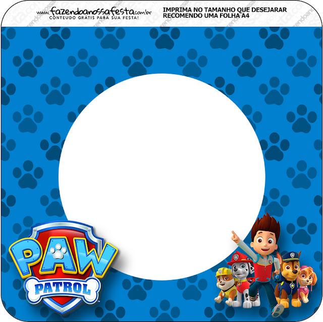 Paw Patrol: Imprimibles Gratis para Fiestas. | Ideas y material ...