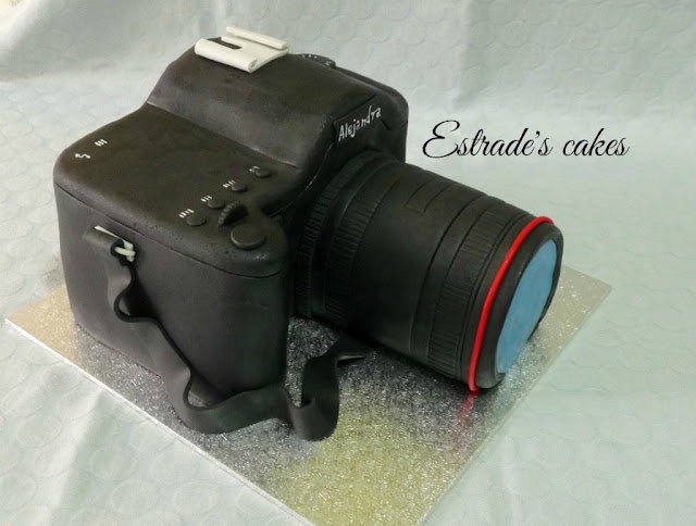 tarta cámara de fotos 6