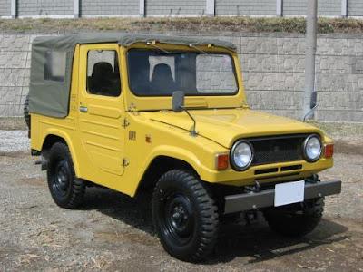 roda yang diproduksi oleh Daihatsu pada tahun  SEJARAH MOBIL DAIHATSU TAFT, MOBIL 4X4 YANG TANGGUH