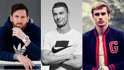 TOP 3 MONEY EARNERS IN WORLD SOCCER