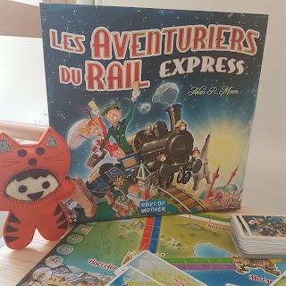Les Aventuriers du Rail Express boite