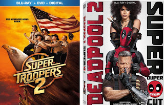 Fox Super Troopers 2 and Deadpool 2 SDCC 2018