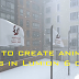 How to create animated flags in Lumion 6 or 7