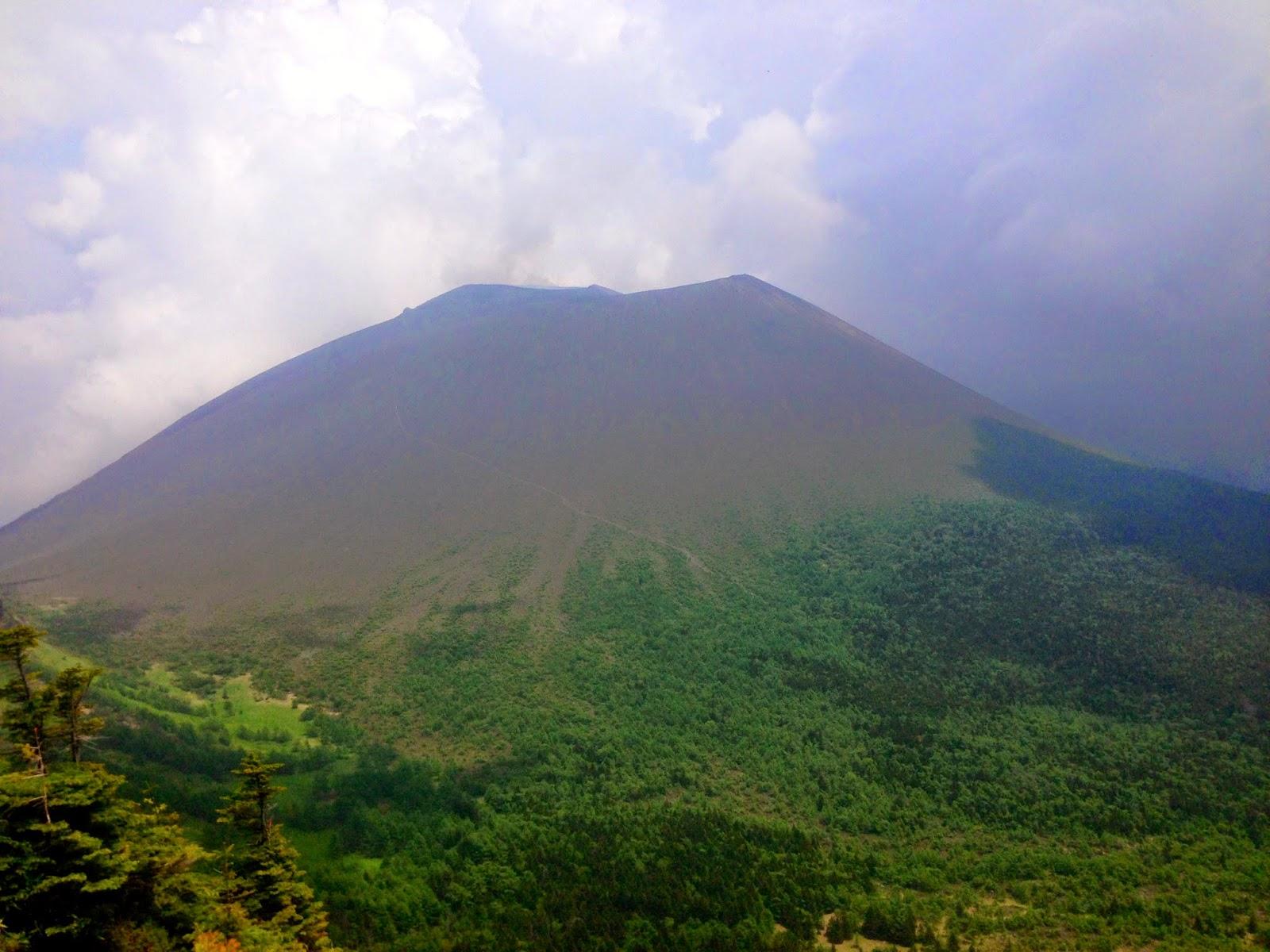 再びの黒斑山山頂
