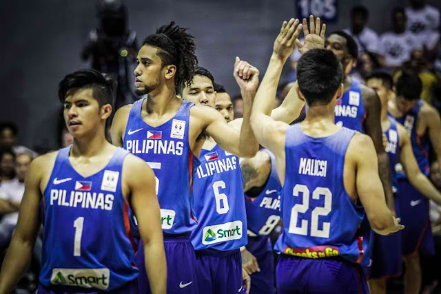 List Gilas Pilipinas 14-man lineup vs Australia 2018 FIBA World Cup Qualifiers