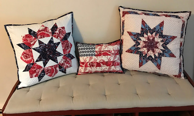 alidiza - Patriotic Pillow Party: Swoon pillow cover made with Anna Griffin's Madison Collection