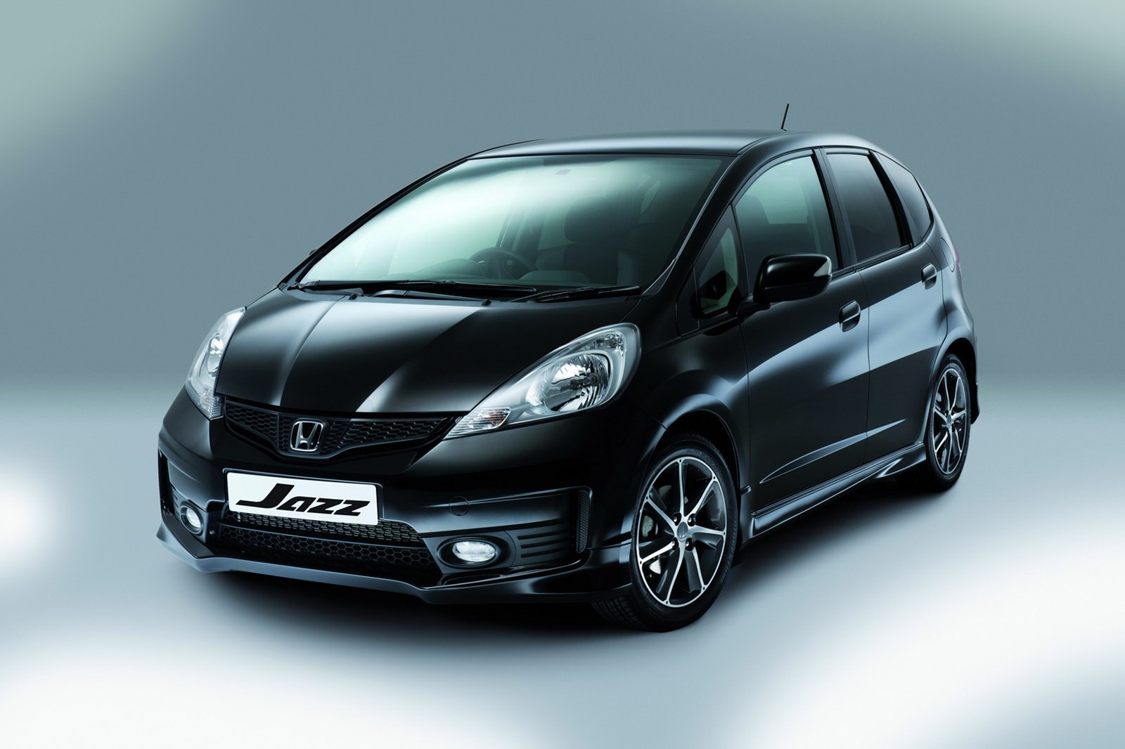 Best Car Wallpaper: Honda Jazz Special Edition Black