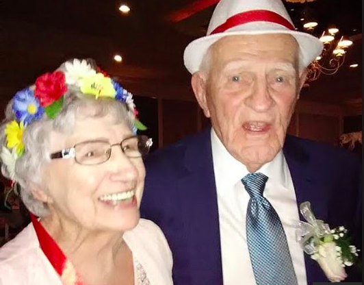 A 93-year-old woman, Dorothy Williams, has married Richard Rola, an 86-year-old man, two decades after she lost her first husband.