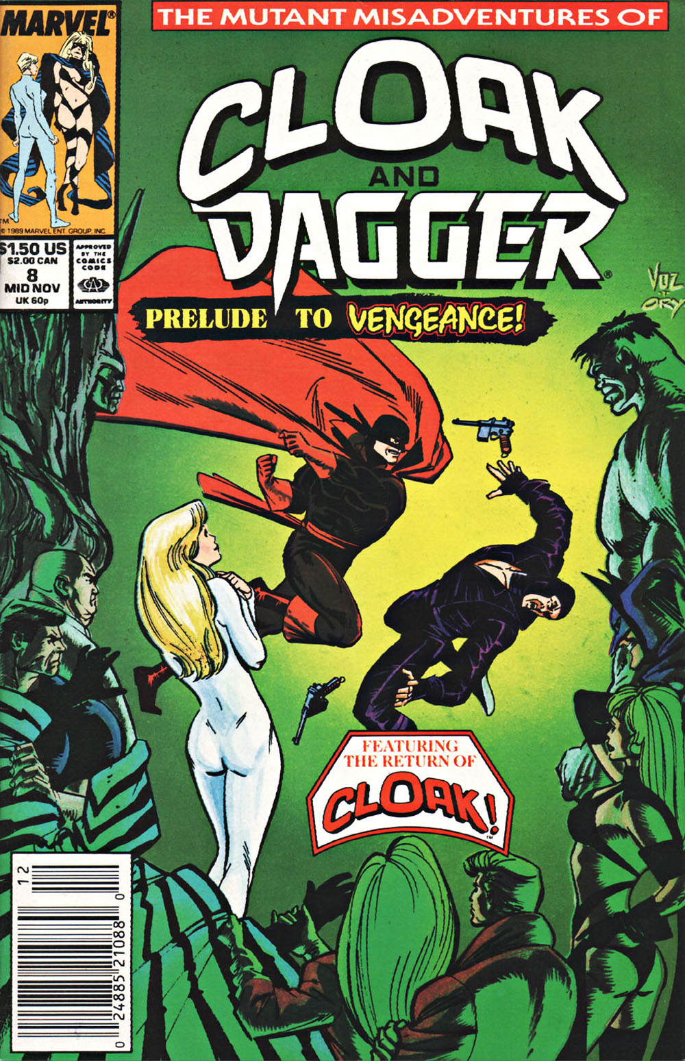Cloak and Dagger (1990) 8 Page 1
