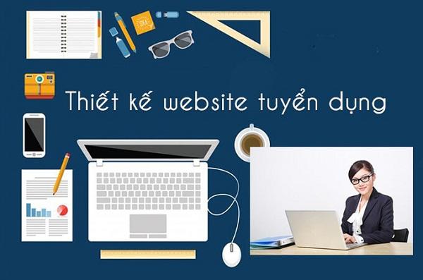 Thiết kế website tuyển dụng việc làm giá rẻ chuyên nghiệp