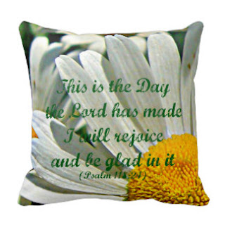 This is the day the Lord has made I will rejoice and be glad in it throw pillow
