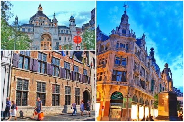 Estacion Central – Casa Rubens – Calle Meir en Amberes Antwerpen