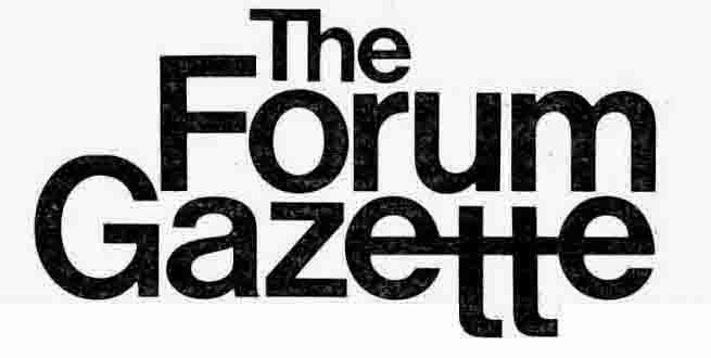 The Forum Gazette Index