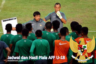 Jadwal lengkap piala AFF U-18 Penyisihan, Semi Final dan Final September 2017
