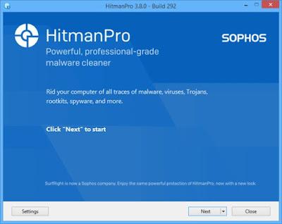 Screenshot HitmanPro 3.8.0 Build 292 Full Version