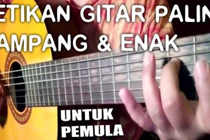 4 Langkah Belajar Petikan Gitar untuk Pemula