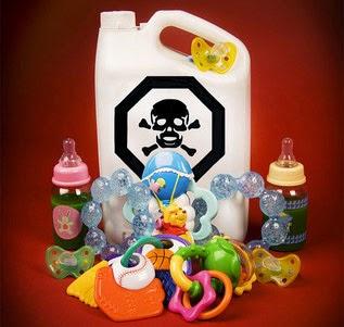 brinquedos de plástico tóxicos