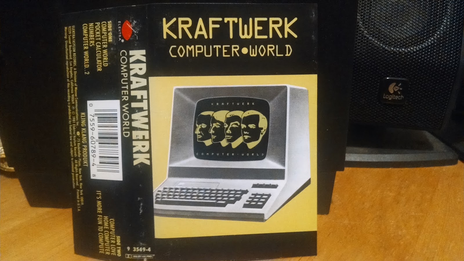 DOWN UNDERGROUND: KRAFTWERK - Computer World LP 81