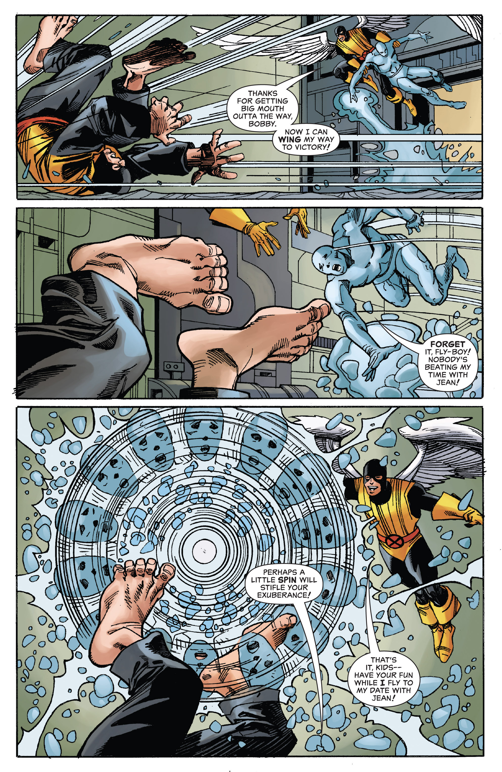 Read online All-New X-Men (2013) comic -  Issue # _Special - All-Different - 101